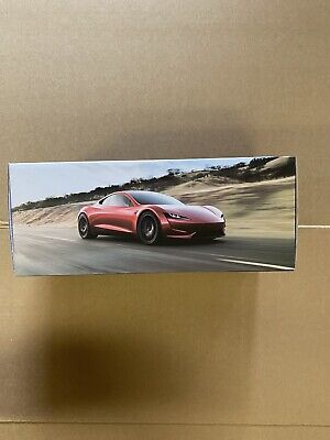 Tesla Roadster 2.0 Official Genuine 1:18 Scale Diecast Car Model Collectible RED