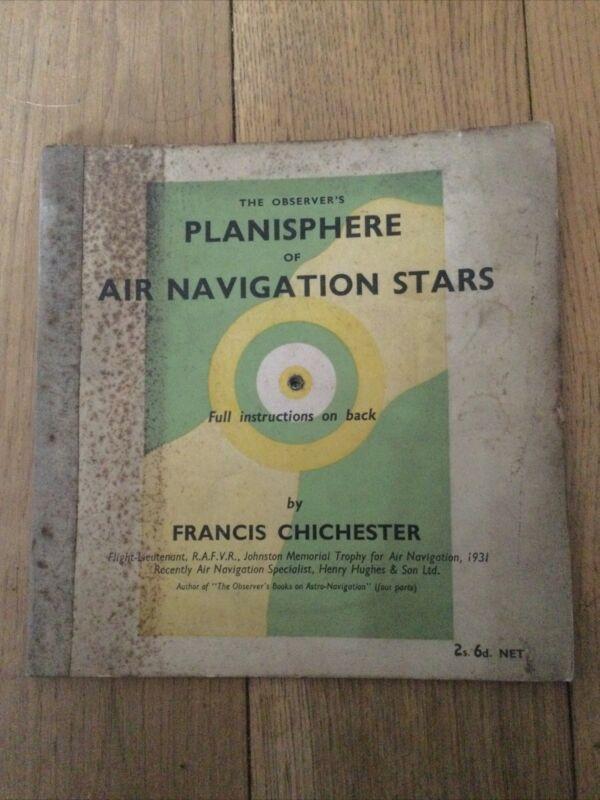 THE OBSERVERS PLANISPHERE OF AIR NAVIGATION STARS.