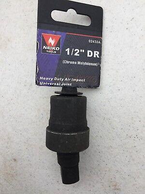 "1/2"" Drive Air Impact Universal Joint socket Swivel Tool"