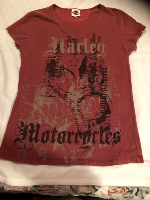 Womens Harley Davidson Shirt, XL