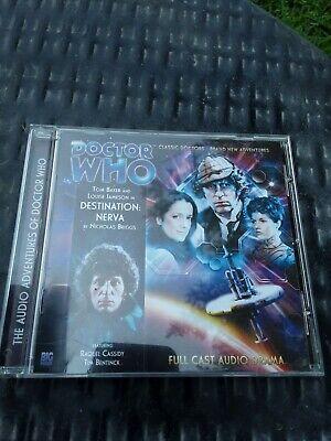 Doctor Who Destination Nerva 4DA 1.1 Tom Baker Big Finish Full Cast Audio Drama