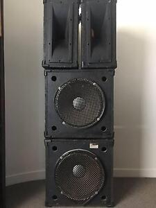 Complete JBL Professional Series PA System and Yamaha Amp Prahran Stonnington Area Preview