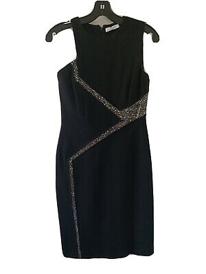 Versace Collection $995 Black Dress In Size 40-Small . Worn Once !