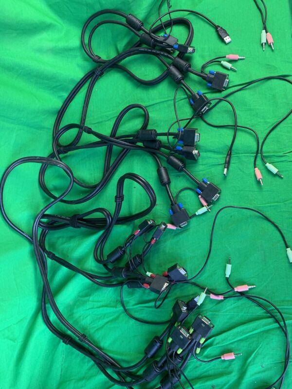 Belkin 6 ft USB KVM Cables