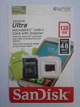 SanDisk 128GB micro SDXC Ultra memory card Class10 48MB/s Frankston Frankston Area Preview