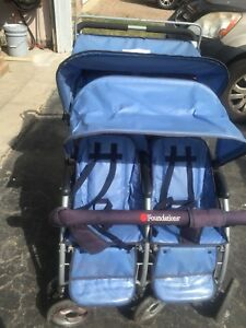 Nice Perfect working condition blue stroller