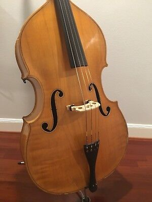 EXTREMELY RARE 1938 KAY BLONDE SWINGMASTER UPRIGHT BASS S-7 SWING MODEL