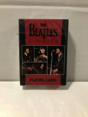 NEW Sealed The Beatles Singles Playing Cards