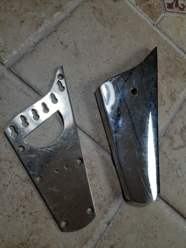 Super Rare Vintage 1975 Ibanez Iceman Tailpiece and Chrome Cover