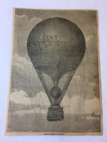 1877 magazine engraving - NADAR