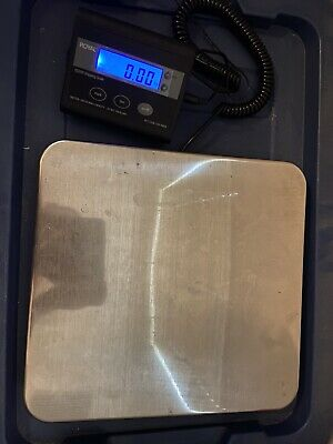 Royal Electronic Shipping Scale DG200 Up To 200 Pounds W/ Remote Digital Display