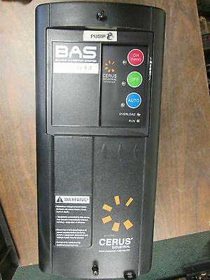 Cerus Motor Starter Bas1-22j-22p 10hp3hp 460208vac 3ph Nema 1 Enclosure Used