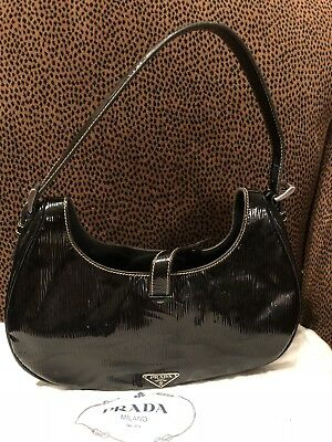 Prada Patent Leather Handbag w/Dust bag/$775/Original Price