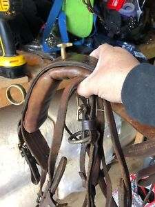 Mini harness for carts and three pulling Collars