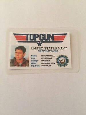 Top Gun Maverick ID Card