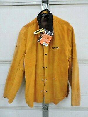 Hobart Leather Welding Jacket 2x-large New With Tags