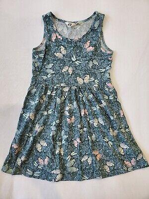Butterfly Sleeveless Jersey (H&M Hm Sleeveless Butterfly Light Jersey Dress Sz 4-6)