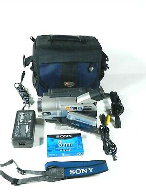 Sony CCD-TRV108 Video Hi8 Handycam Camcorder w/ Charger *tested * pre-owned NICE