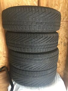 195 65 15 winter tires continental 100$ FIRM