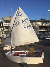 Optimist Dinghy AUS 705 - Good condition - Perfect first boat Harlaxton Toowoomba City Preview