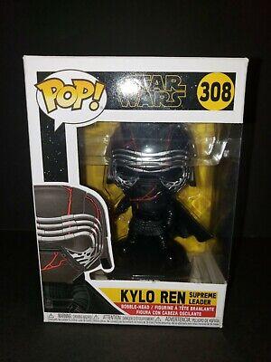 Kylo Ren Supreme Leader 308 Star Wars - Funko Pop - Never Opened in Box