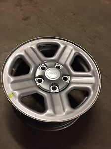 Set of five jeep rims