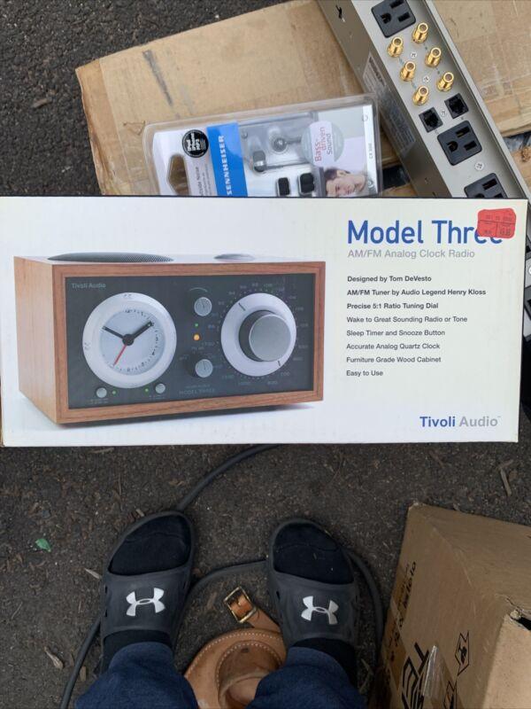 Tivoli audio model three new