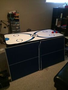 New Air hockey table w/ ping pong attachment!-OBO