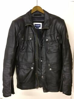 Triumph Men's Custom Leather Motorcycle Jacket