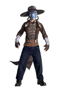 Rubie's Star Wars Clone Wars Cad Bane Deluxe Child Costume Size Small - Cad Bane Deluxe Kostüm