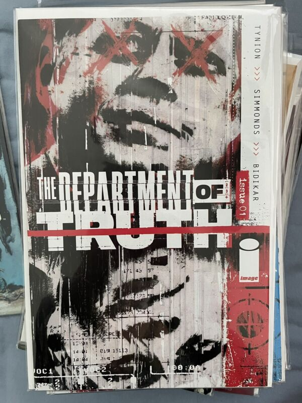Department of Truth 1 first print. NM-never read.