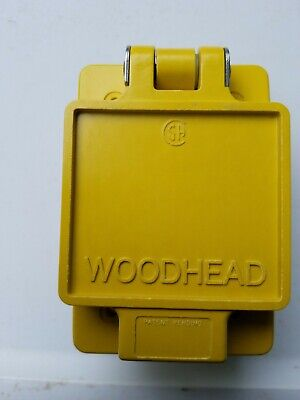 Woodhead 67w08 Watertite Receptacle For Fd Box 20a 125250v Nib Surplus.