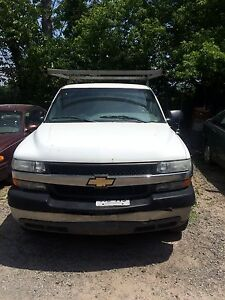 2001 Chevy 2500 WORK TRUCK WITH RACK