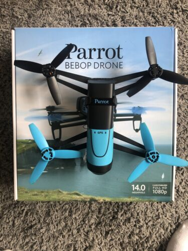 Parrot BeBop 14 MP 1080p video, Camera Drone - Blue and Black