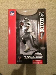 McFarlane toys football Oakland Raiders Jerry Rice 12 inch