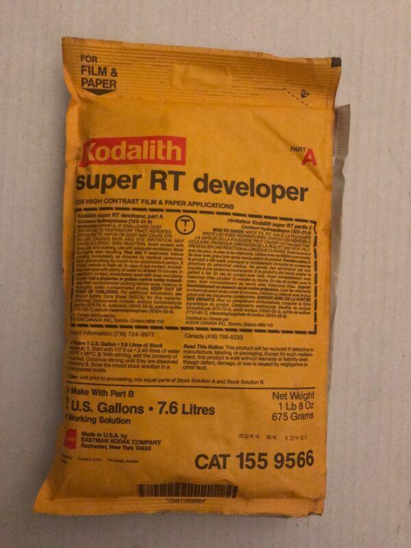 Kodak Kodalith developer Part A&B 1 lb 7 oz / 657 grams
