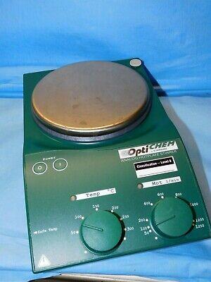 Chemglass Opti-chem Analog Hotplate Stirrer Mst Basic S21