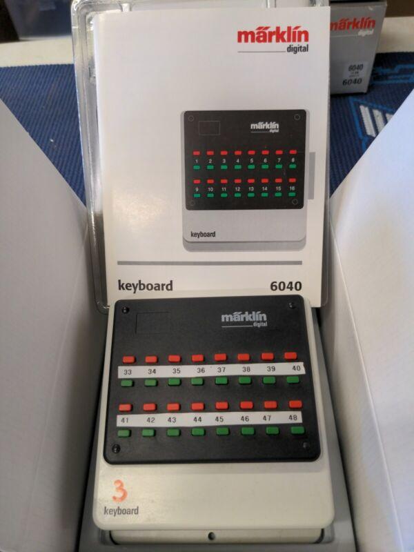 Märklin Marklin 6040 Keyboard EUC box, manual, see pics