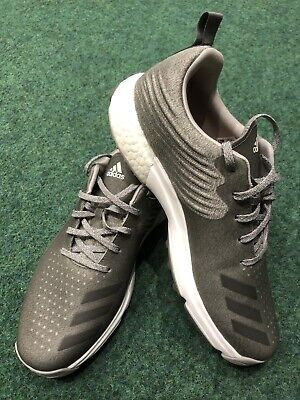Adidas Adipower 4orged S Waterproof Golf Shoes Grey UK Size 10 Wide