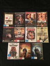 11x Assorted DVD's Armadale Armadale Area Preview