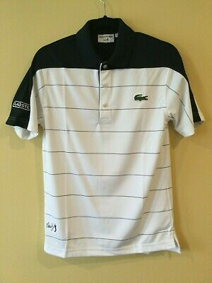 NWT Lacoste Sport Mens Short Andy Roddick' Golf/Tennis Polos, 2 (XS)