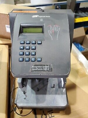 Ingersoll Rand Handpunch 1000-e Biometric Hand Scanner