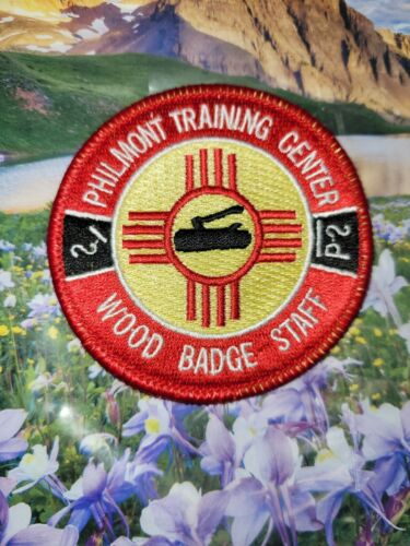 Wood Badge Philmont Staff patch, BSA