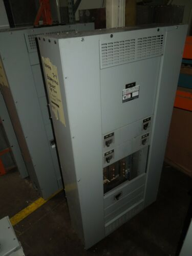 Siemens S4 800A 3ph 480V 3w Main Lug Panel w/ Distribution Breakers NEMA 1
