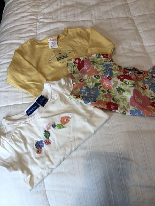 New Girls Lot Of Clothes Size 2t (carter's, Oshkosh) 3 Piece Lot