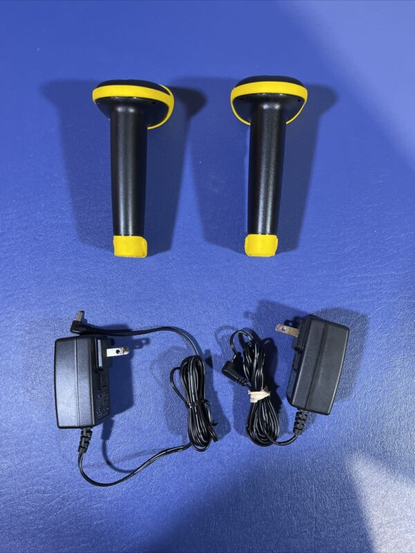 Lot Of 2 Wasp Freedom Cordless Barcode Scanner