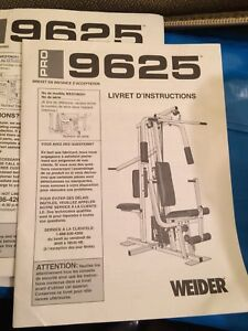 Just in time for summer -weider pro 9625 home gym