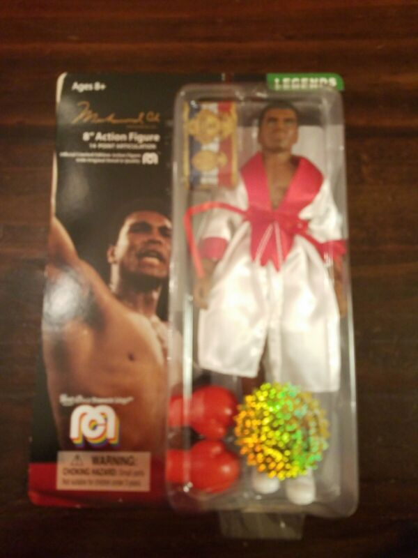 "MEGO LEGENDS MUHAMMAD ALI 8"" ACTION FIGURE limited edition NEW 1308/10000 abrams"