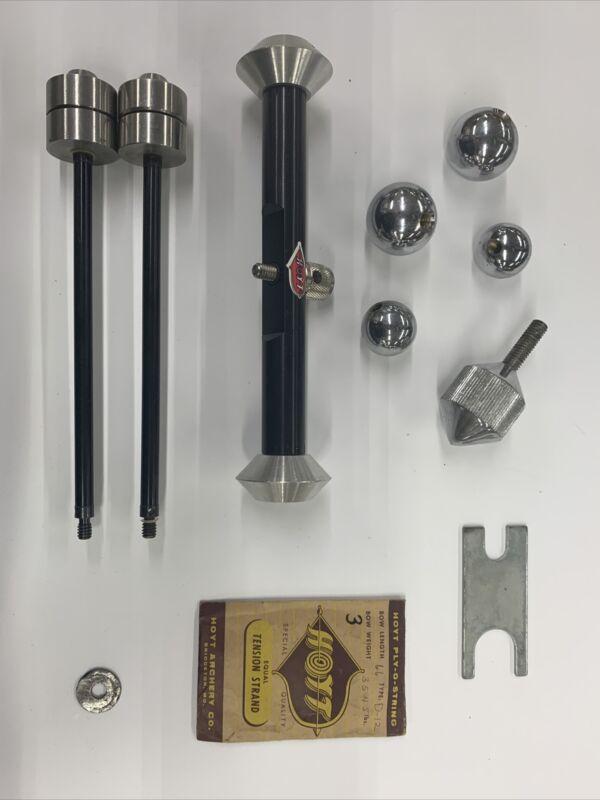 Vintage Hoyt Stabilizer Components For Olympic Recurve - Lot HHH 999