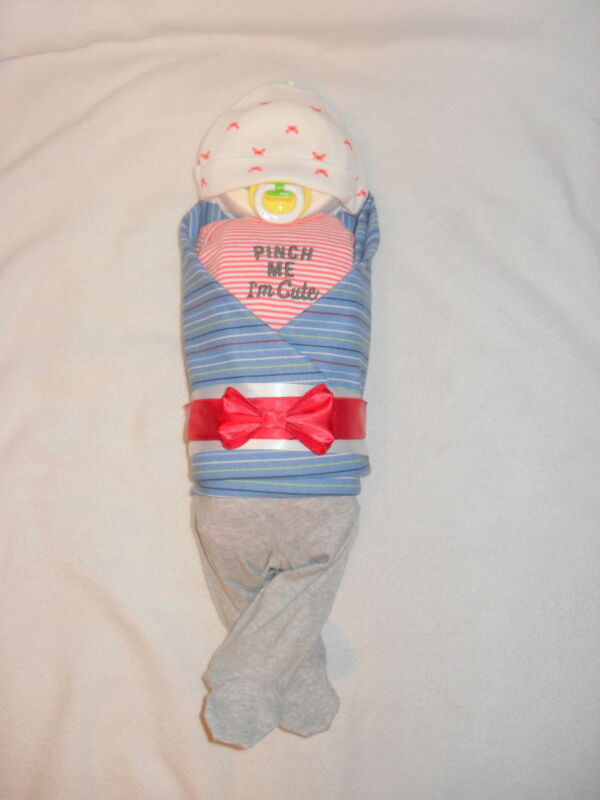 """Pinch Me I'm Cute"" Diaper Baby-Cute Baby Shower Gift  Idea!!!!"